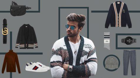 ELLE Man Style Calendar: Chinh phục mùa lạnh với áo cardigan nam