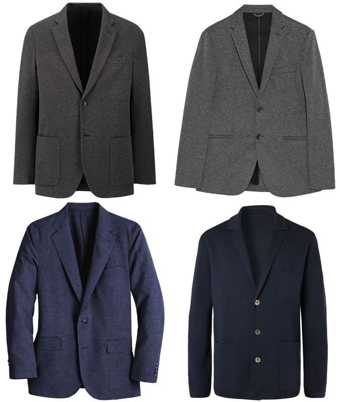Áo Unstructured Blazer
