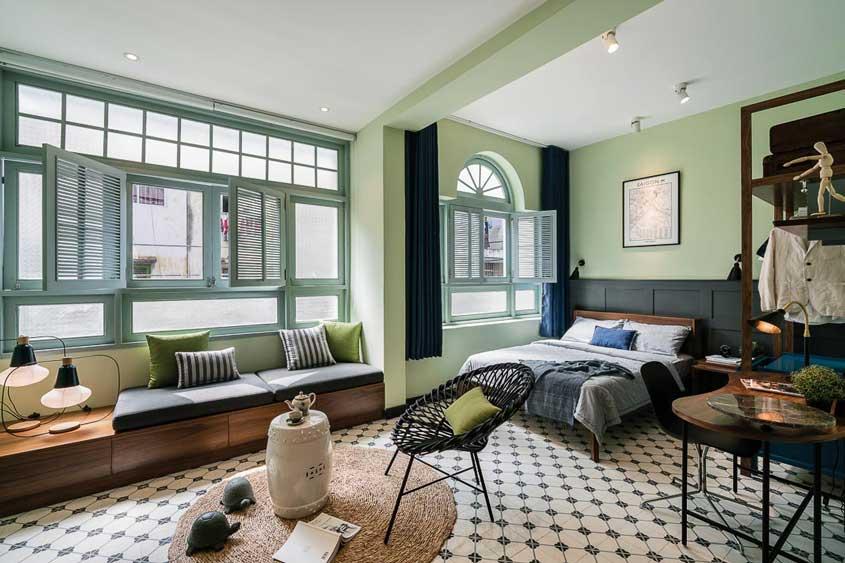 Trang trí nội thất theo phong cách Đông Dương