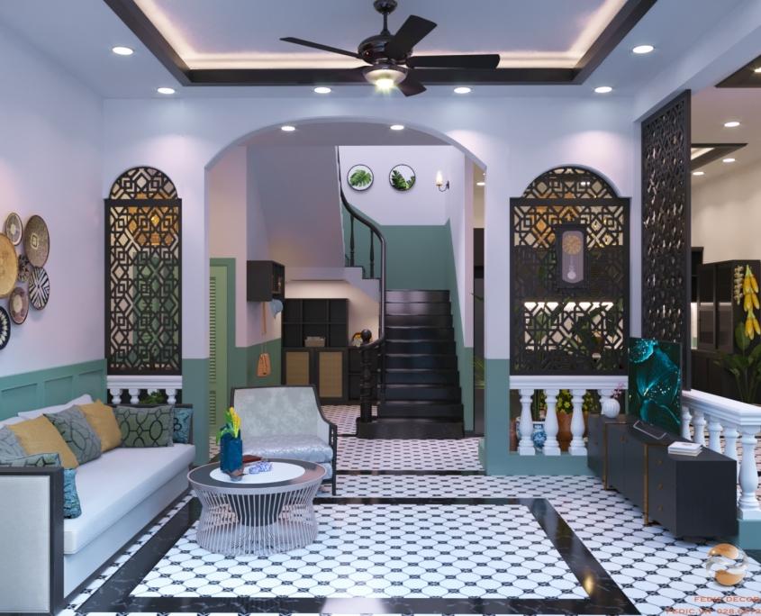 Trang trí nội thất phong cách Đông Dương