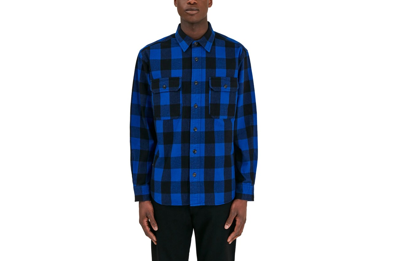 Woolrich John Rich & Bros. flannel overshirt