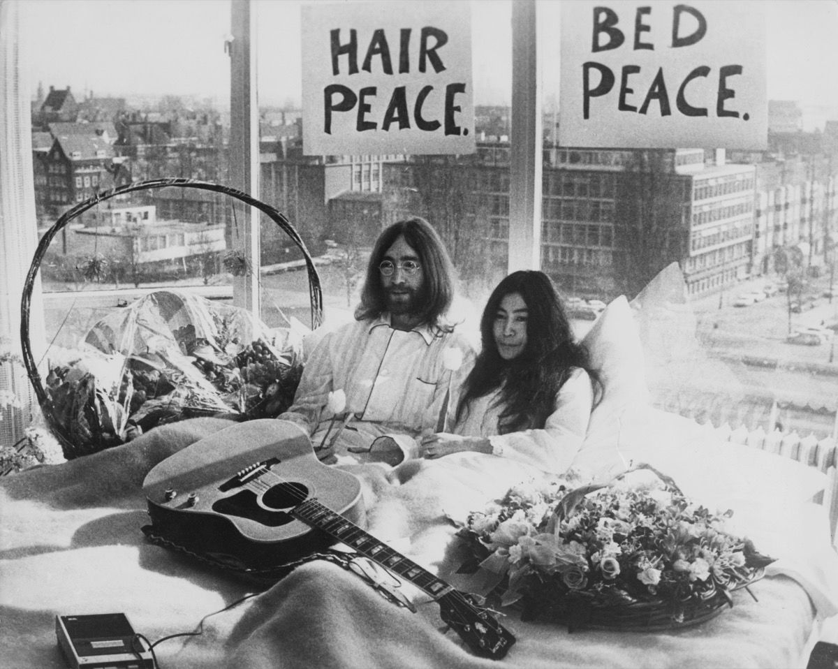 John Lennon và Yoko Ono