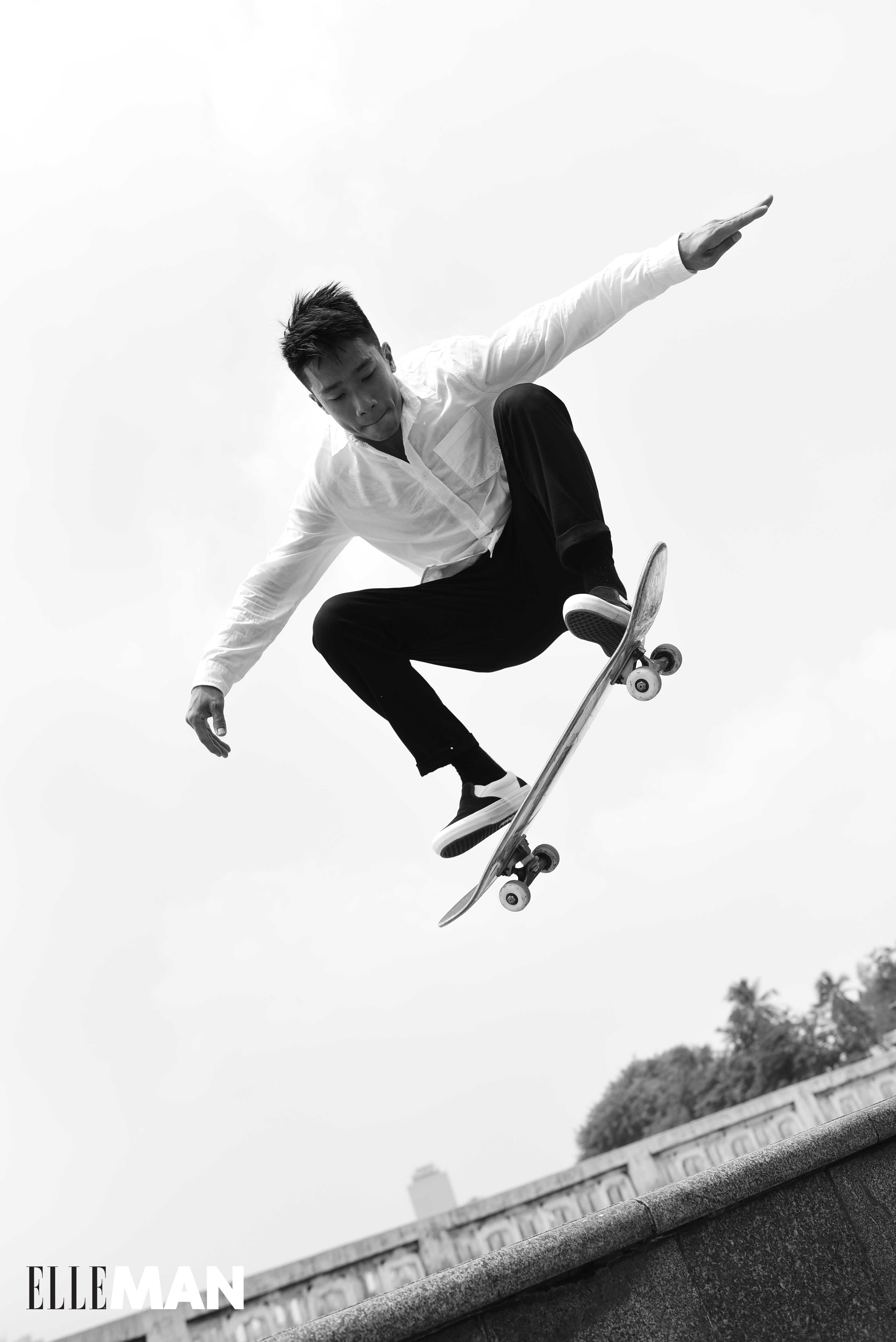 do ngoc linh skater - elle man3