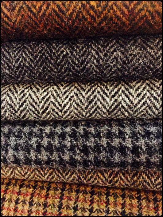 các chất liệu vải tweed khác nhau