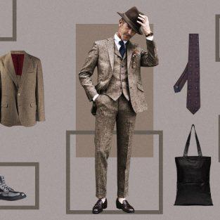 ELLE Style Calendar: Trở về cổ điển cùng vải tweed