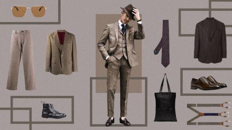 ELLE Style Calendar: Trở về Thu cổ điển cùng vải tweed