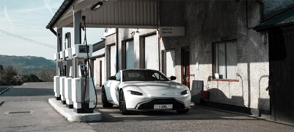 Chiếc xe Aston Martin Vantage