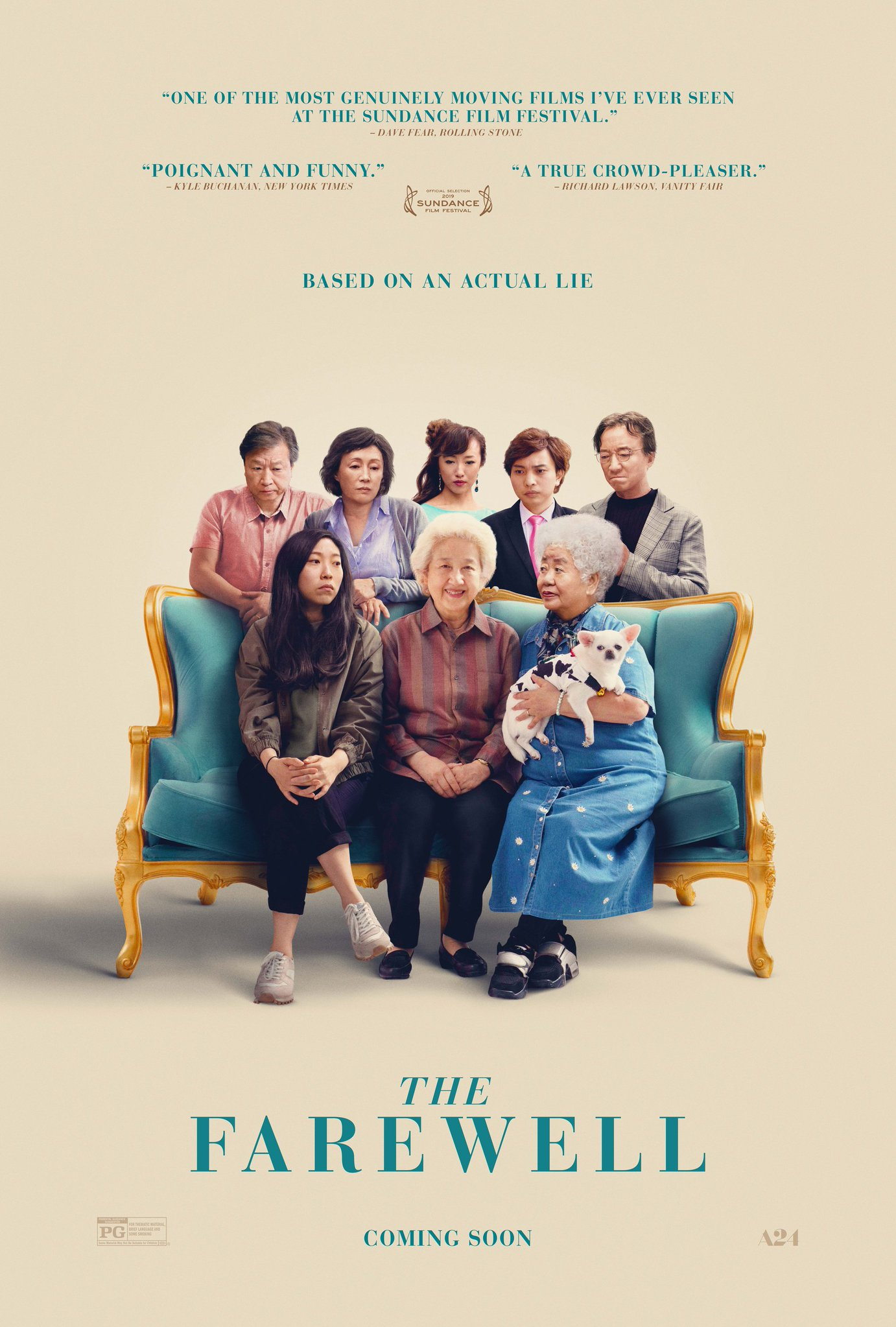 review phim the farewell - elle man 2