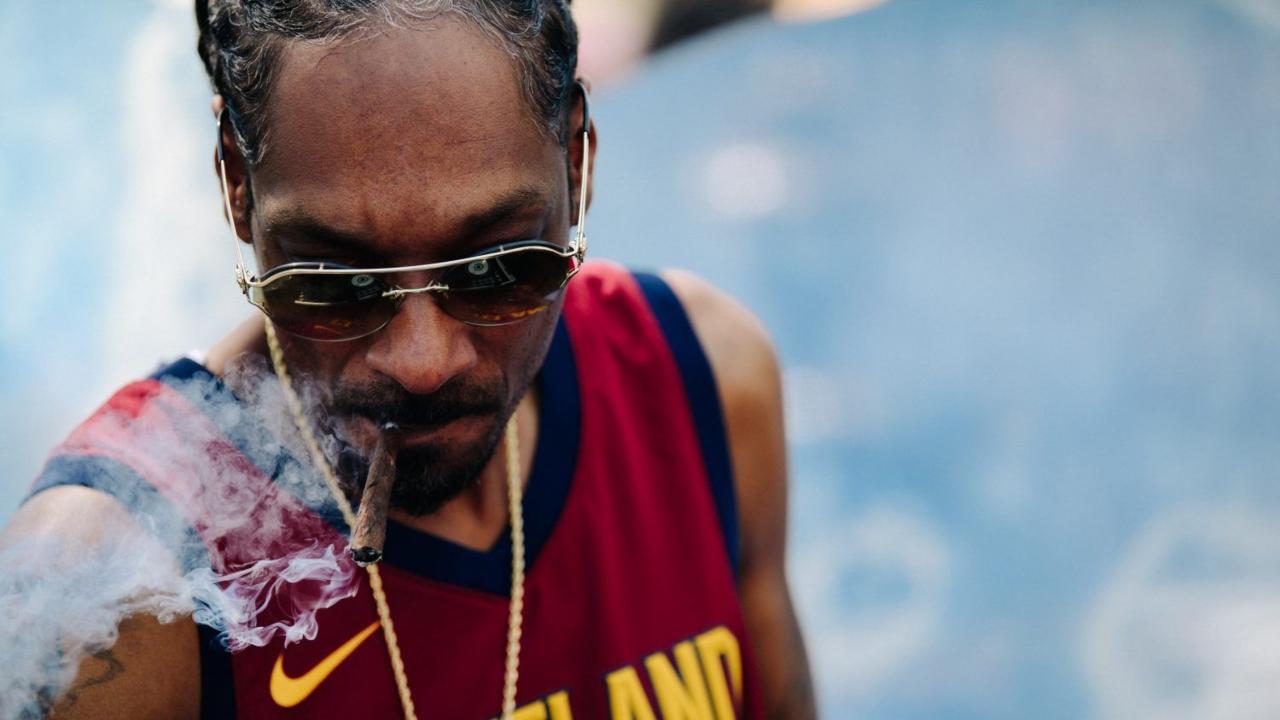 sinh nhật nam ca sỹ Snoop Dogg feature elle man