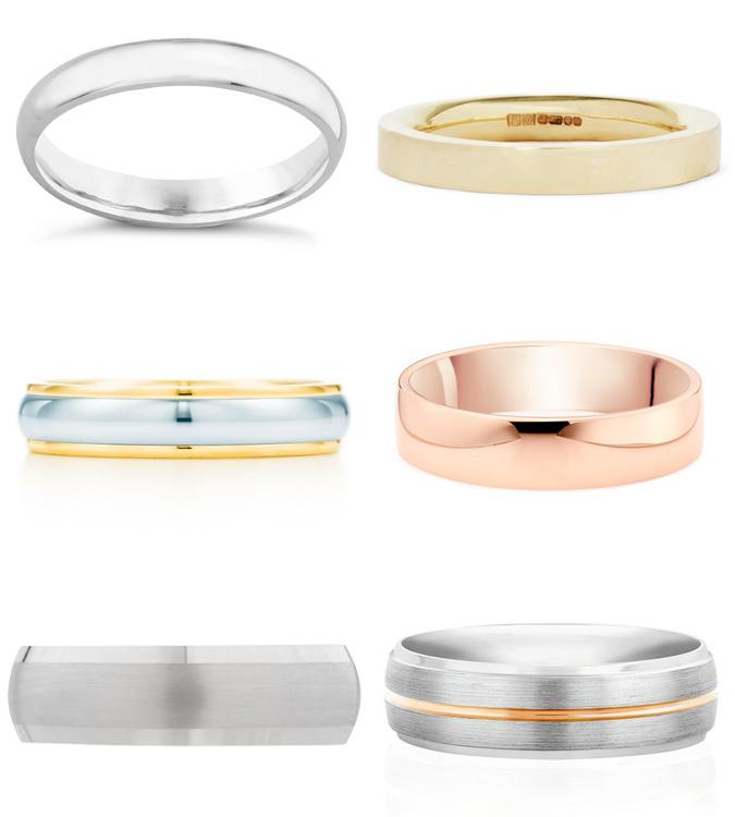 các loại nhẫn cưới