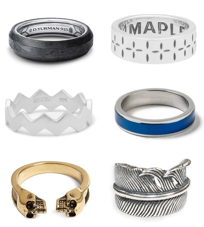 Các loại nhẫn thời trang