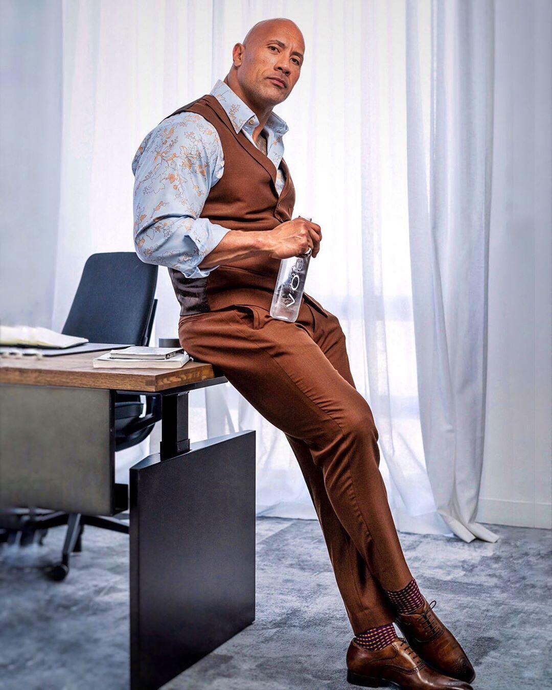 diễn viên The Rock - thời trang sao nam ấn tượng tuần 3 tháng 10
