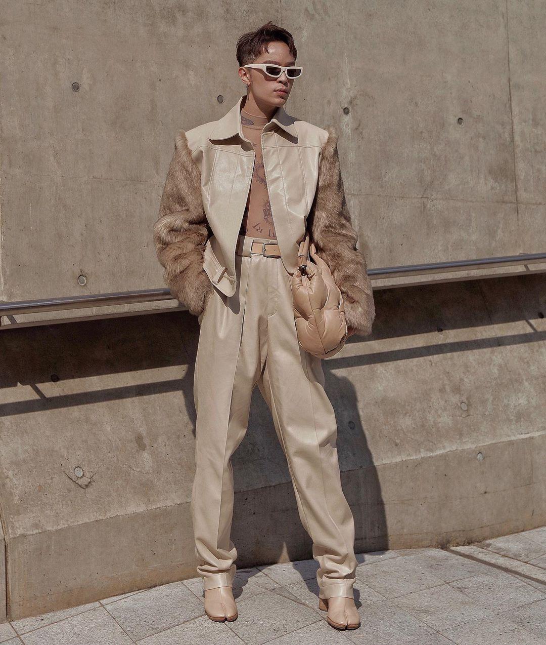 fashionista Kelbin Lei - sao nam mặc đẹp tuần 3 tháng 10