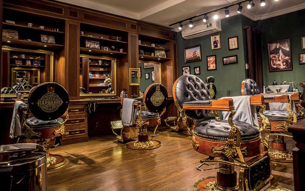 nuoc hoa nam tinh - house of babaard barbershop - elle man