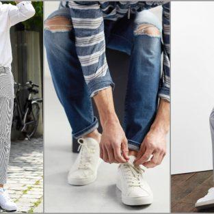 3 gợi ý phong cách phối cùng giày sneaker trắng