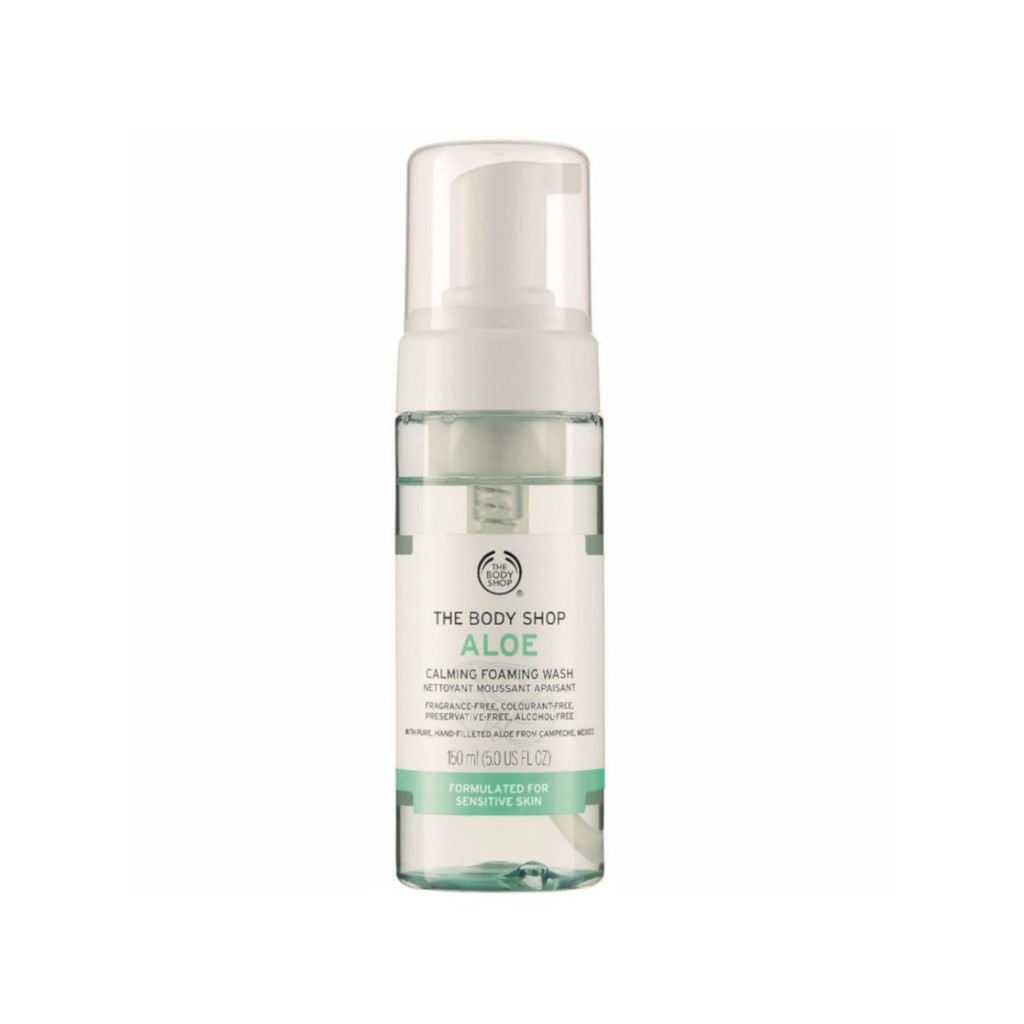 Sửa rữa mặt The Body Shop Aloe Gentle Facial Wash