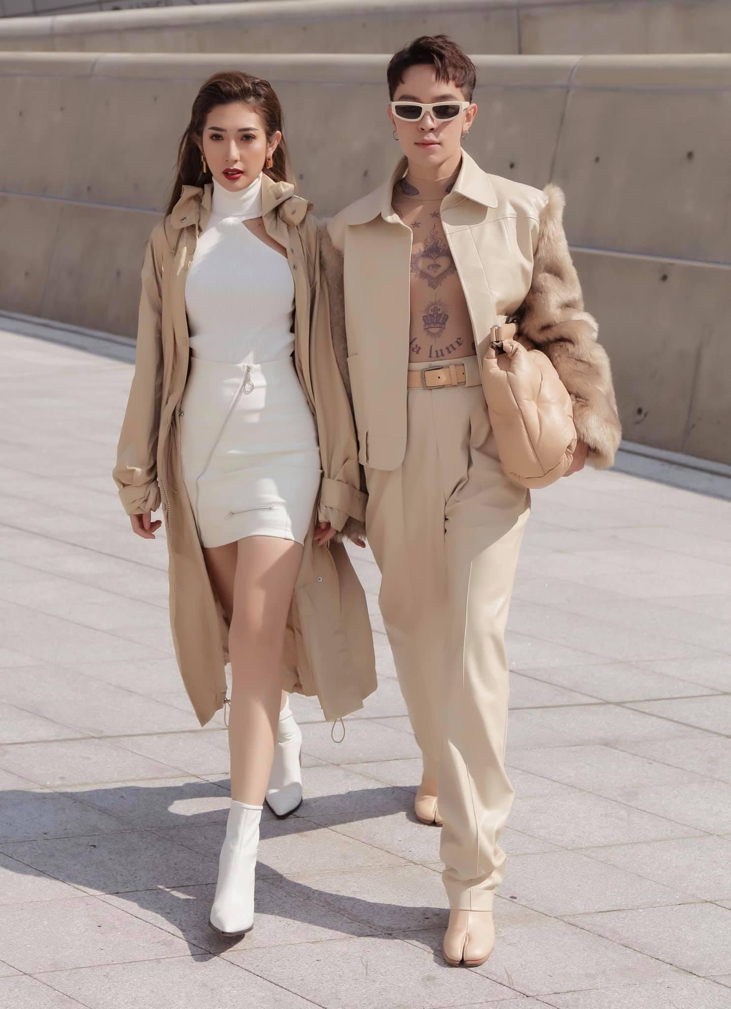 Kelbin Lei và Khổng Tú Quỳnh