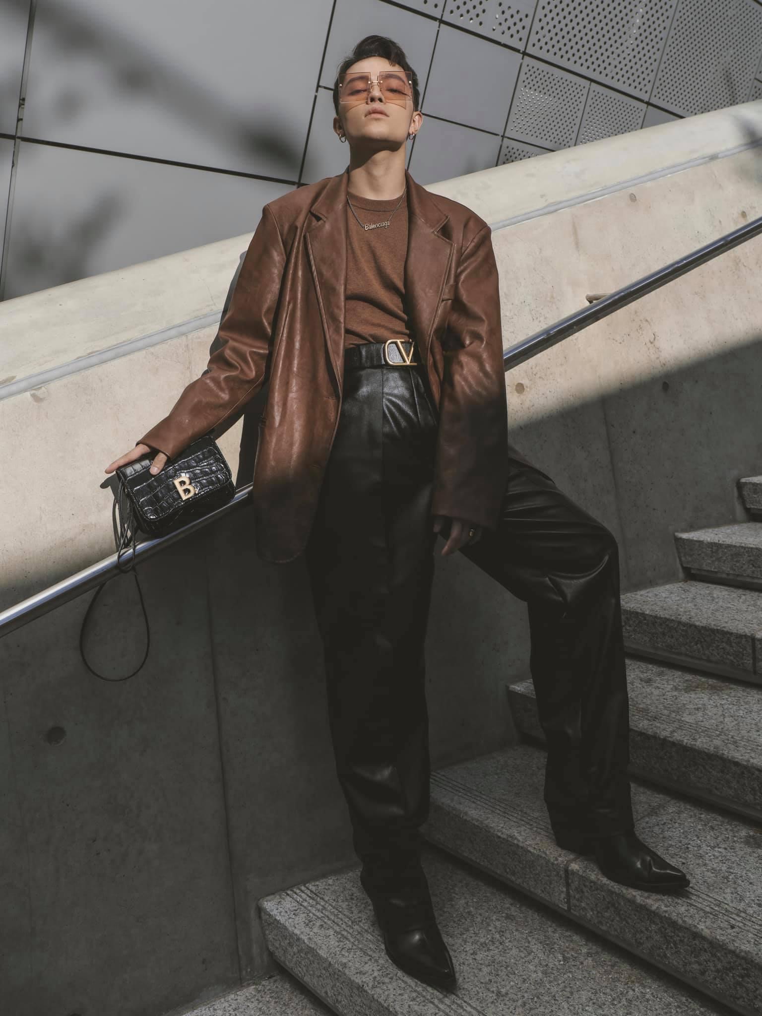 Kelbin Lei tại tuần lễ thời trang Seoul 2020
