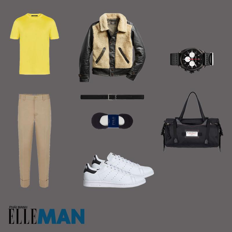 outfit 5 - phối trang phục phong cách workwear