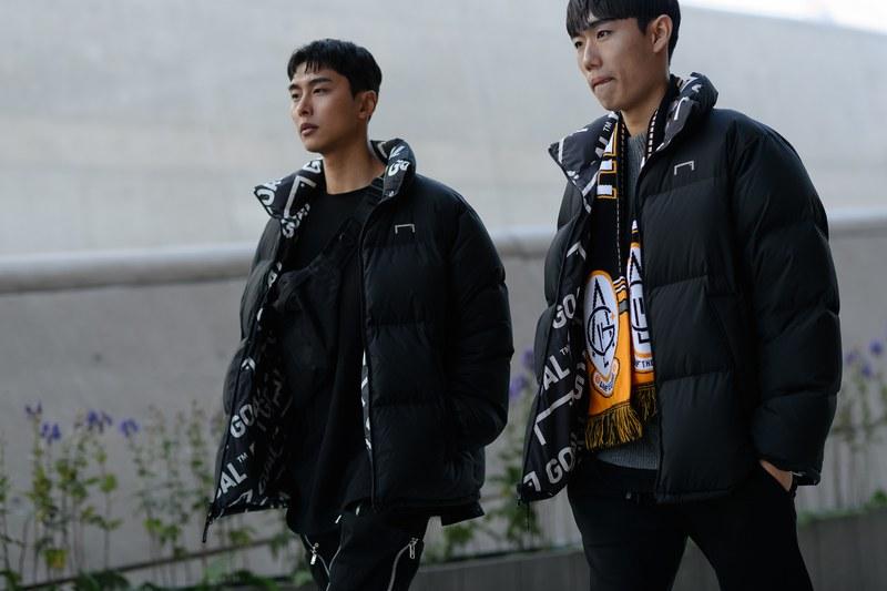 """Áo khoác phao vẫn luôn là một trong những item thời trang đường phố khá """"hot"""" ở xứ sở Kim Chi"""