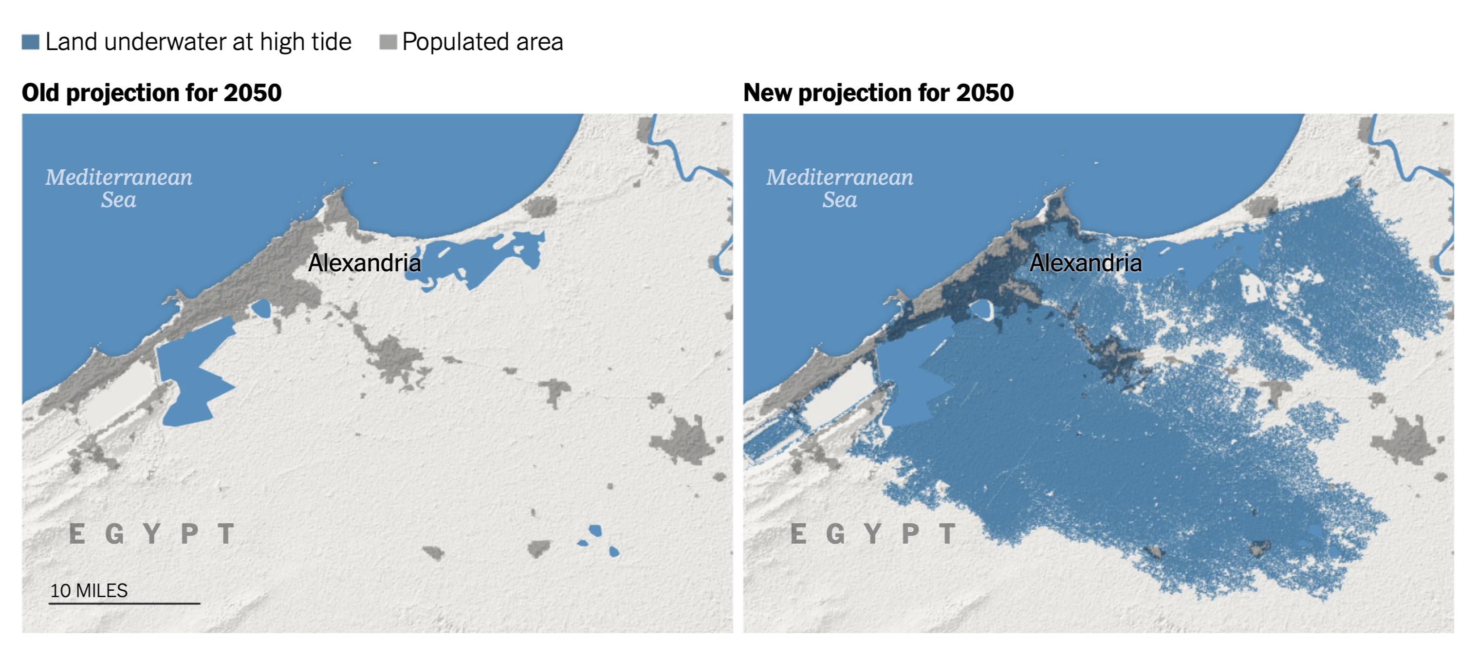 Alexandria thành phố lớn thứ hai của Ai Cập cũng chịu chung số phận với nhiều thành phố khác