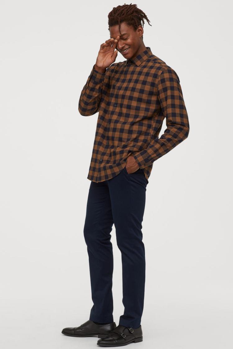 brown flannel-elleman