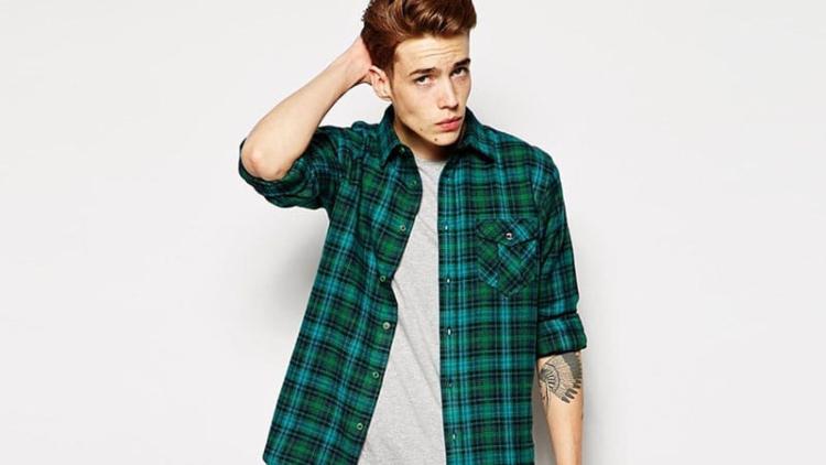 green flannel-elleman