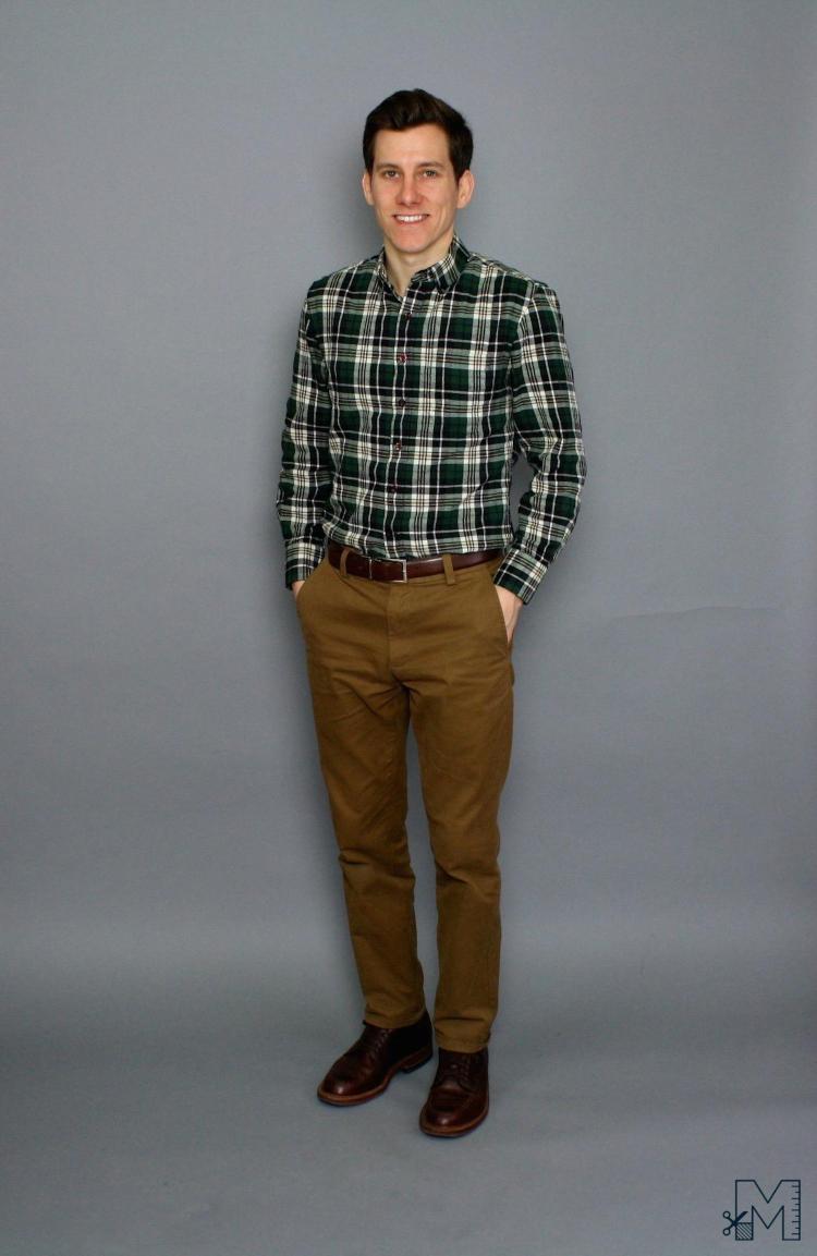 smart casual 2-so mi flannel-elle man-1119