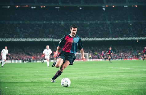 Luis Figo: Chiếc áo đấu chia đôi!