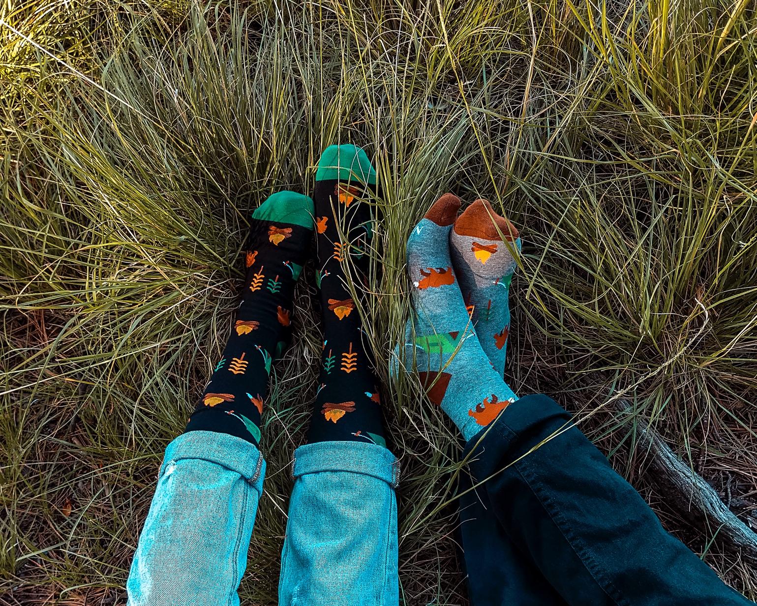 Những đôi vớ dài giữa bắp chân