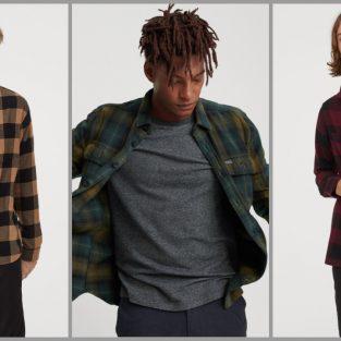 13 thương hiệu có thiết kế sơ mi flannel đáng chú ý của 2019