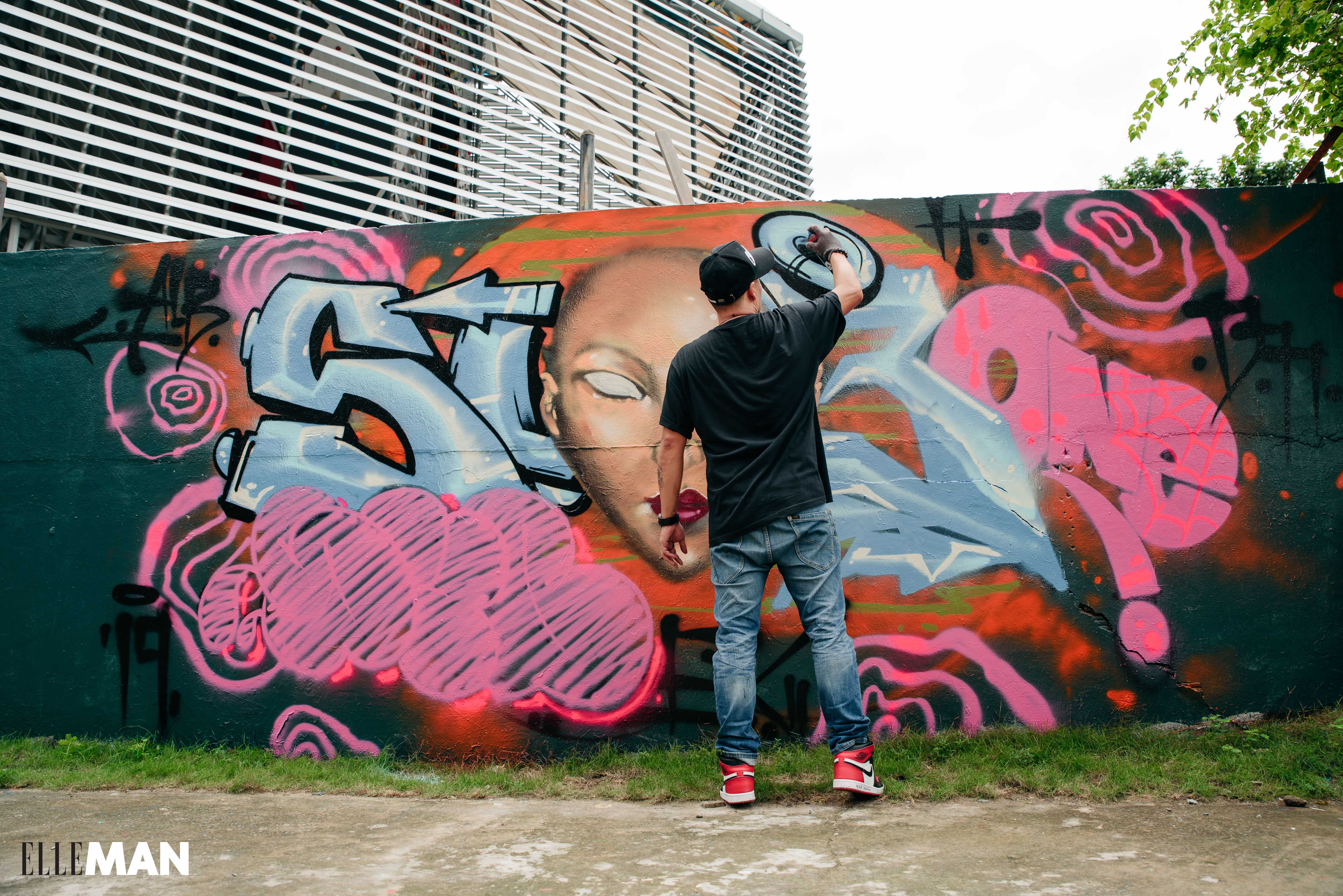 nghe si graffiti Suby - elle man 4