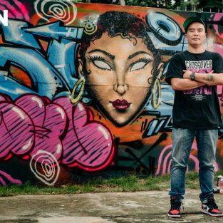 """Nghệ sĩ graffiti Suby One: """"Việt Nam sẽ là tâm điểm Graffiti của Đông Nam Á"""""""