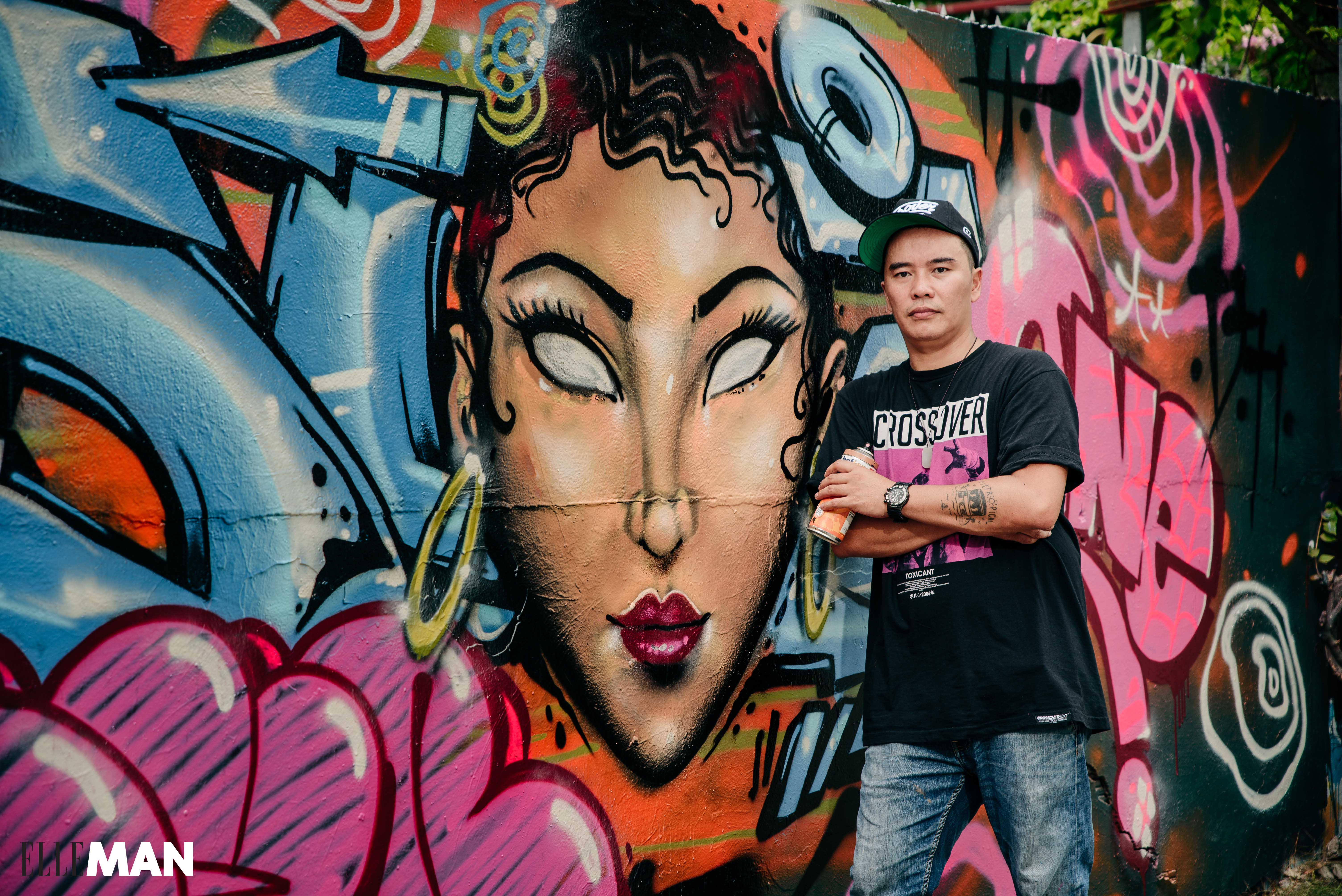 nghe si graffiti Suby - elle man