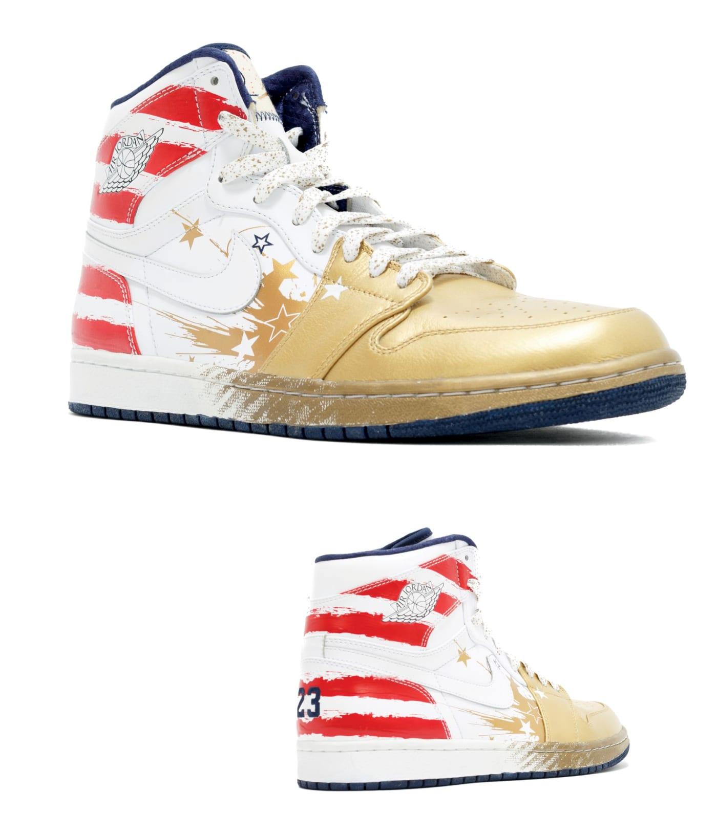Giày thể thao collab DAVID WHITE X JORDAN BRAND, AIR JORDAN I RETRO WINGS FOR THE FUTURE