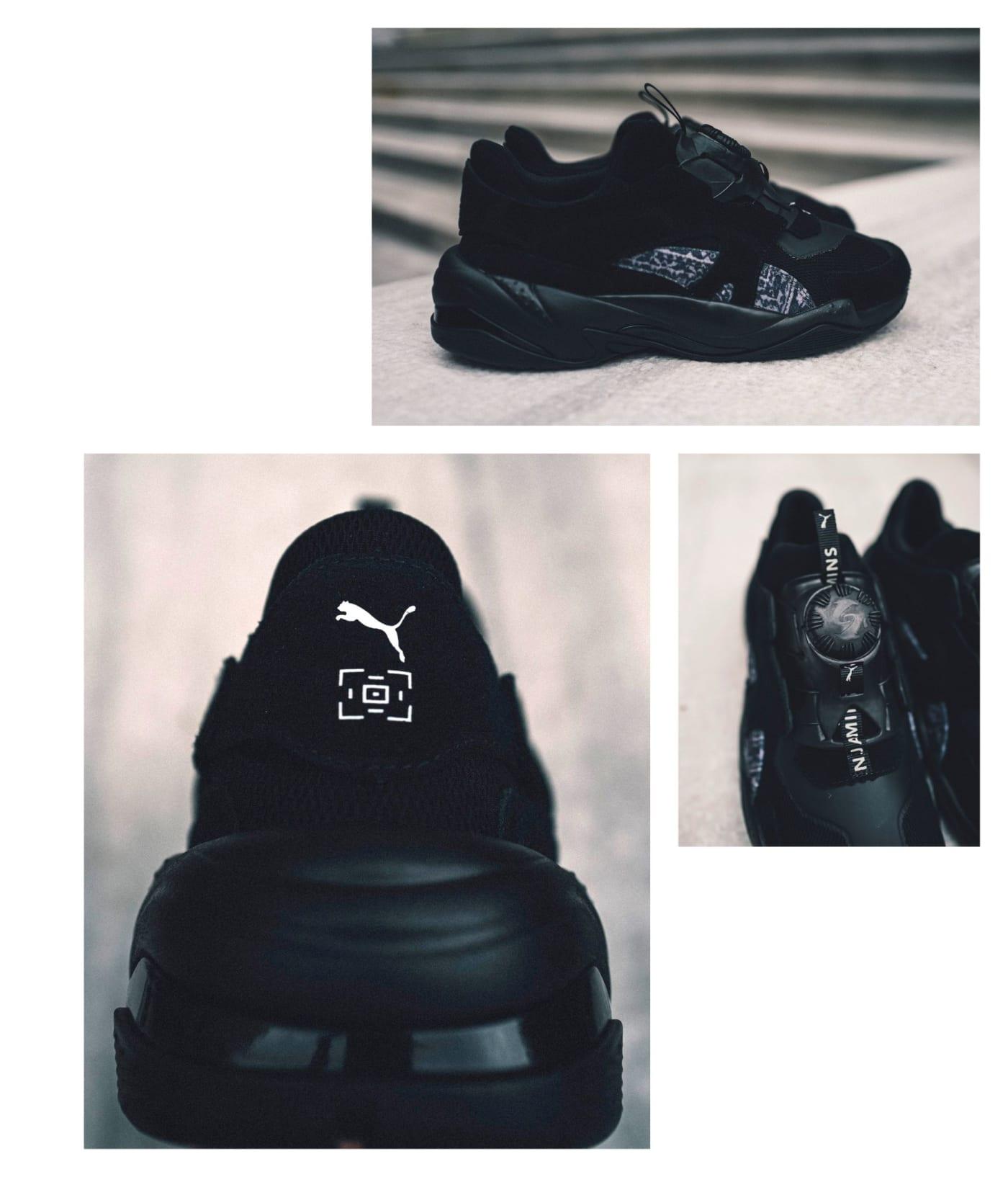 Giày thể thao collab LES BENJAMINS X PUMA, THUNDER DISC