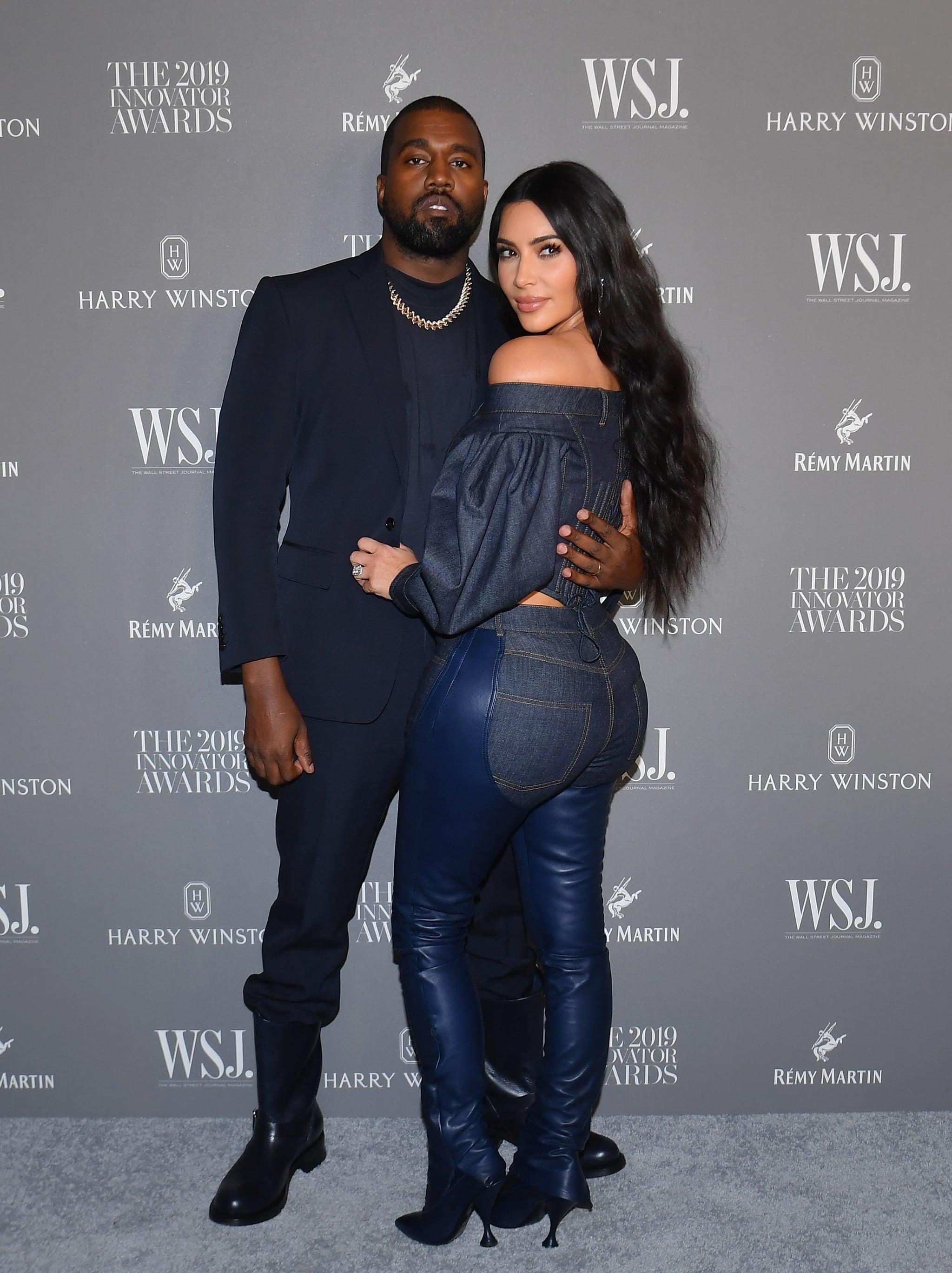 Kanye West cùng Kim Kardashian