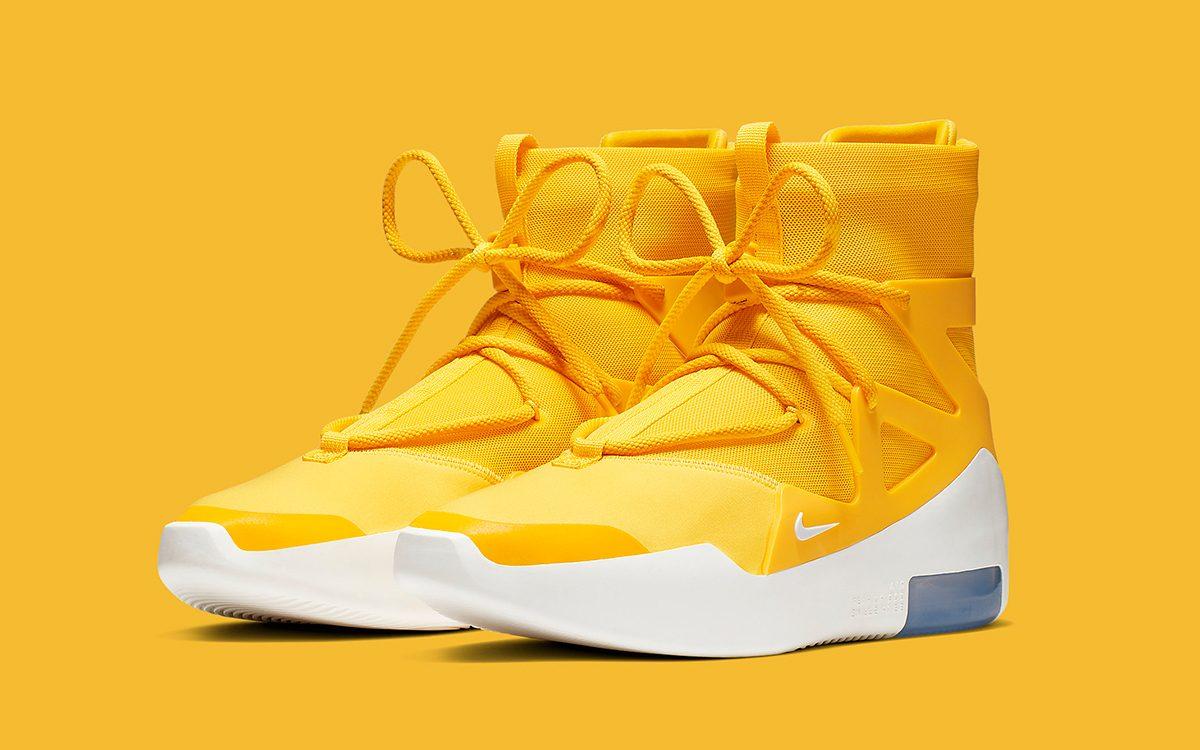 """Đôi giày Nike Air Fear Of God 1 """"Yellow"""""""