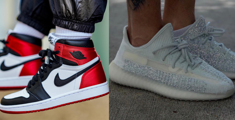 Hai đôi giày thể thao của Nike và Adidas đều chiếm vị trí nhất, nhì bảng xếp hạng