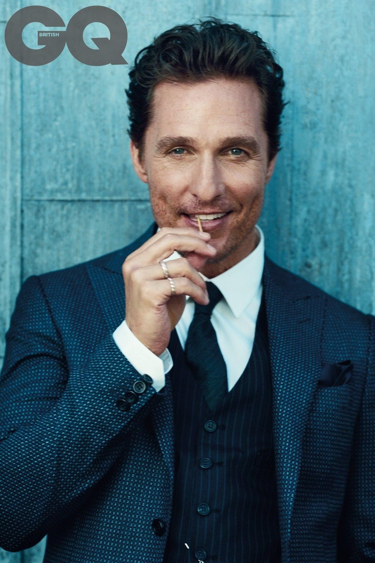 nam tài tử Mathew McConaughey cung Thần Nông