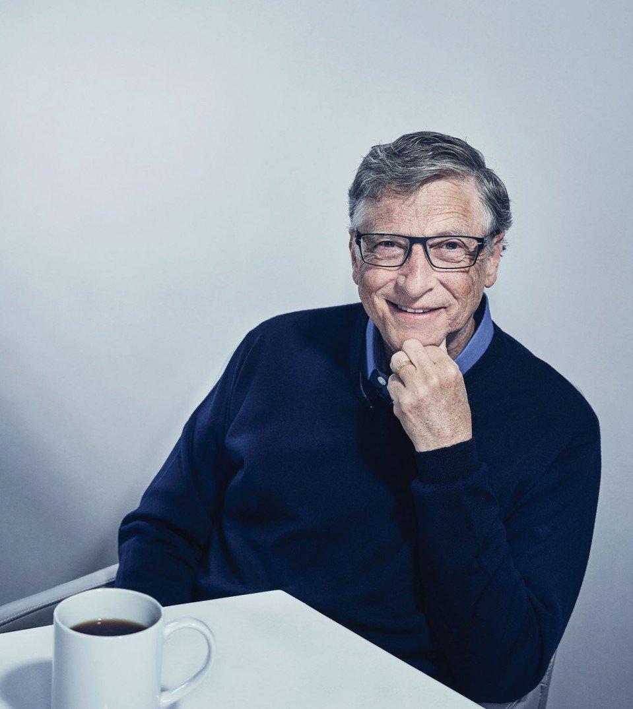 tỷ phú Bill Gates - ELLE Man