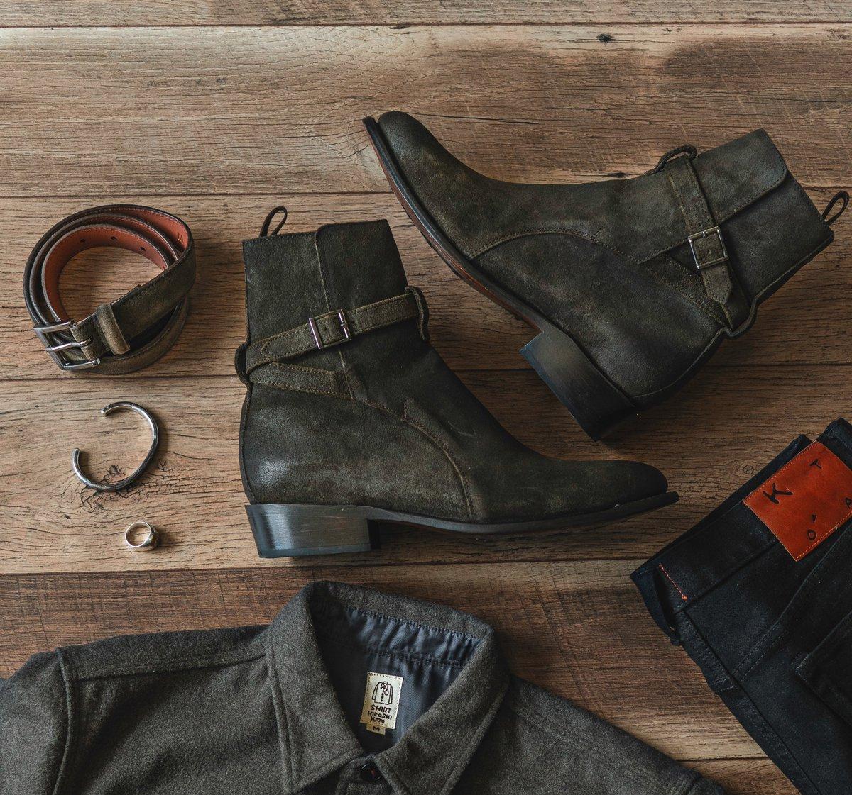 giày bốt nam Jodhpur Boot