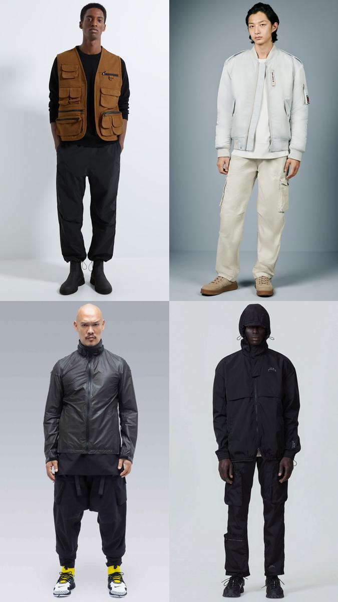 phong cách phối đồ công ngệ techwear