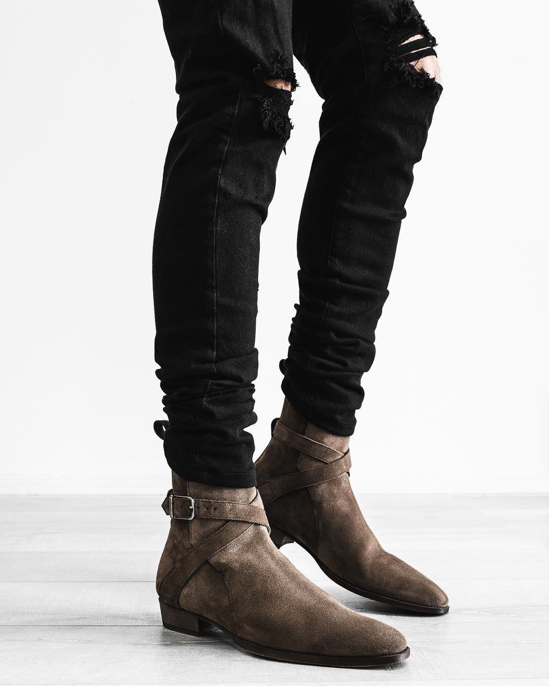 Những đôi Jodhpur Boot dẽ dàng hơn trong việc mang vào và tháo ra