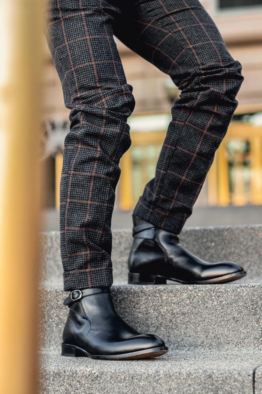 Những chiếc quần trouser khi đi cùng Jodhpur Boot cũng rất hợp