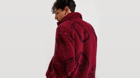 5 cách phối áo lông cừu cho mùa Đông