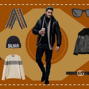 ELLE Man Style Calendar: Cách phối áo khoác da cho mùa lễ hội cuối năm