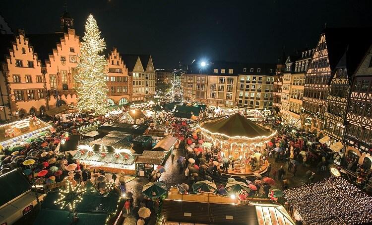 Những khu chở Giáng Sinh ở Bruges, Bỉ