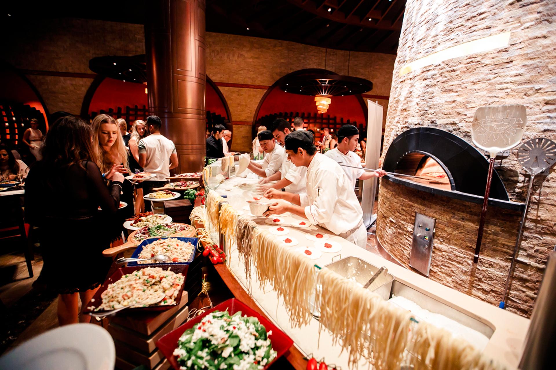 Sự kiện Cirque De Cuisine tại khách sạn Atlantis