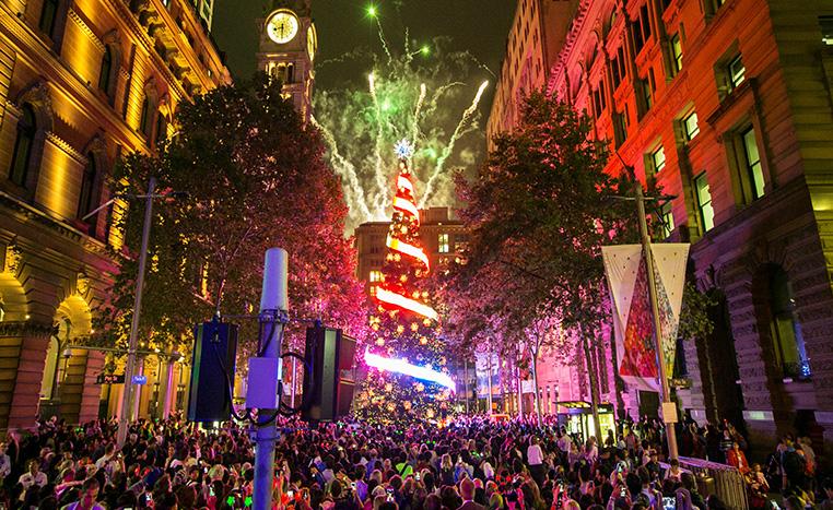 lễ hội Sydney Christmas tại địa điểm du lịch Sydney
